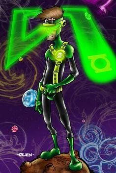 Green lantern cyclops