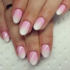 Kolejny piękny babyboomer Wasze ulubione zdobienie. #hybrydy @semilac 003 + biel #manicure #paznokciehybrydowe #pazurki #ombre #ombrenails #babyboomer #semilac #hybrydy #manicuretop #nails2inspire #nailstagram #nails #semilacnails #pazurki #nailspastel #sweets #babynail #manicure #paznokciekoszalin #l4like #beautifull #c4c #l4l