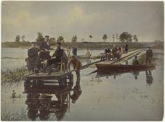 Восемь фотографических снимков со строительства Полесских железных дорог (участок Пинск-Лунинец). Автор Конрад Брандель. 1892г.