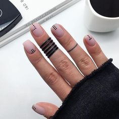 Nagellack Design, Nagellack Trends, Stylish Nails, Trendy Nails, Short Nail Designs, Nail Art Designs, Matte Nails, Acrylic Nails, Coffin Nails