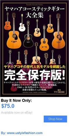 Music And Instruments: Yamaha Acoustic Guitar Daizenshu/ Book Full Coverage Former Model Of Yamaha BUY IT NOW ONLY: $75.0 #ustylefashionMusicAndInstruments OR #ustylefashion