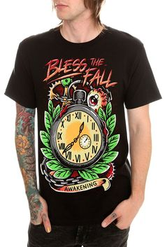 Bless The Fall Awakening Slim-Fit T-Shirt available at www.HotTopic.com