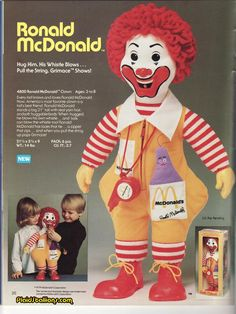 As creepy as this looks now I remember I was so excited when I got this doll!!