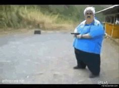 Gun .gif with added text | Wat | Know Your Meme