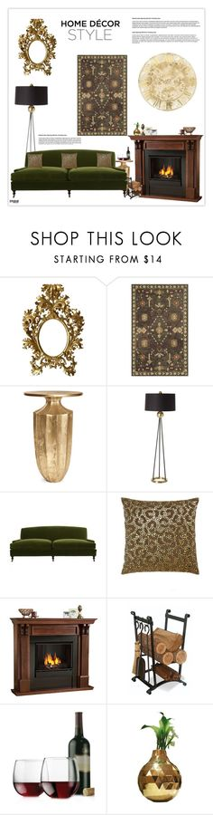 """""""Home Decor Style"""" by marion-fashionista-diva-miller ❤ liked on Polyvore featuring interior, interiors, interior design, hogar, home decor, interior decorating, Safavieh, Arteriors, Jayson Home y Lili Alessandra"""