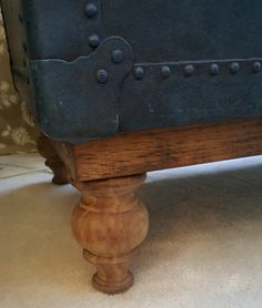 I like this idea! I want to try and protect the integrity of the trunk.    Creating a stand for an old trunk