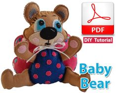 Baby Bear PDF Tutorial INSTANT DOWNLOAD by vitbich on Etsy