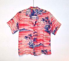 d1da0b3b Vintage Hawaiian Shirts, Aloha Spirit, Overall Dress, Hawaii Shirts, Luau,  Vintage