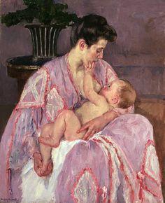 mary cassatt breastfeeding - Google Search