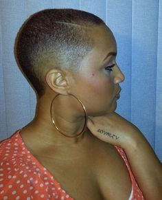 Taper Fade Haircuts For Black Women