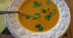 Mystery Lovers' Kitchen: Spicy Sweet Potato and Coconut Soup