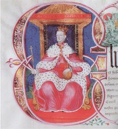 Elizabeth I.-Excerpt: 'Portrait by the great HOLBEIN  is attached to an official document, carefully protected in the Round Tower, Windsor.  A fabulous image where the Queen is beginning to create her pictorial icon.'