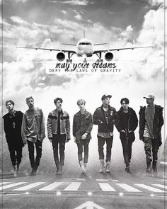 """""""May your dreams defy the laws of gravity"""" Woah I love this edit!! It somehow touched my heart :') IKON"""