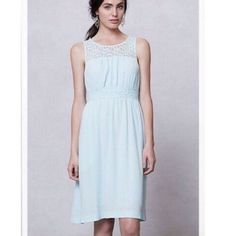 a23116ce0d52 Shop Women's Anthropologie Blue size 6 Midi at a discounted price at  Poshmark. Description: Anthropologie dress by HD in Paris.