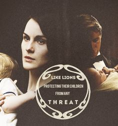 Like lions protecting their children from any threat: Mary and Tom.
