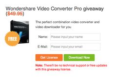 Take It From Me: Wondershare: Unlimited Giveaway Campaign