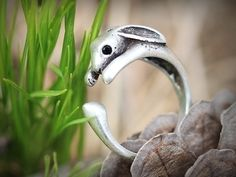 Konijn Ring van ISTANBLUE op DaWanda.com