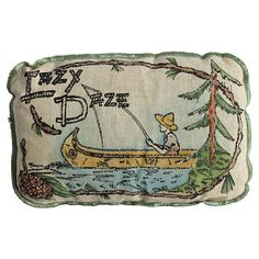 Vintage Lazy Daze Balsam Pillow #huntersalley