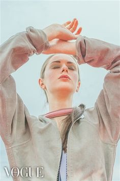 WHITE MOUTHS MODular jacket on PhotoVogue