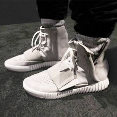"Have you seen Kanye's new shoes? If not, get the inside look at his first collaboration with adidas in our NEW article ""Kanye's Yeezy 750 Boost Released on Saturday""  → http://sociallyshoppable.com/style/?p=12583  and see his shoes unveiling in last week's Mercedes Benz Fashion Week show!"