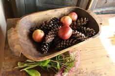 M 26: antique handcarved WOODEN DOUGH BOWL cottonwood by grainsack on Etsy Grainsack, Wooden Dough Bowl, Serving Bowls, Hand Carved, Autumn, Antiques, Tableware, Etsy, Antiquities