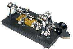 Vibroplex Original Standard side-swiper mechanical semi-automatic keyer.