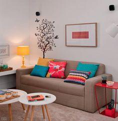 Este ambiente de 10,50 m² foi idealizado para acomodar a torcida confortavelmente – e você pode ter um igual por 10 x R$ 672