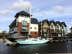 Lazy Lifes Retreat, Newport, Isle of Wight - marina based holiday lodges Log Cabin Holidays, Waterfront Property, Isle Of Wight, Lodges, Newport, Lazy, Cottage, Island, Catering