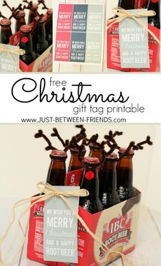 "Neighbor Gifts | Happy ""Root Beer"" Printable"