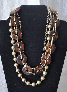 Leopard Necklace by Premier Designs Jewelry retiring in July '13