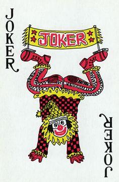 General Joker Playing Card