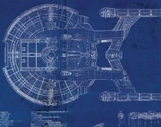 Star Trek Enterprise NX-01 Blueprint Art Print  This evocative illustrative print would make a great addition to the home of any Star Trek fan. The print features several views of the Star Trek Enterprise NX-01 on a distressed and aged looking blueprint. Some text and assorted technical data has been used for authenticity. PRINT SIZES: Prints are sized to fit standard frames you can purchase almost anywhere, for your own custom finish. Please note, US-size prints (8x10, 11x14, 16x20) are…