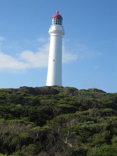 """Melbourne - Great Ocean Road lighthouse. In this lighthouse """"round the twist"""" was filmed..."""