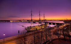 White Night. Saint-Petersburg, Russia by Fothis