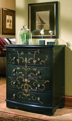 Dishfunctional Designs: Paint It Black: Stylish Black Painted Furniture