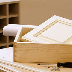 Woodworking Cabinet Construction Stock Image - Image of still, cabinets: 12963639