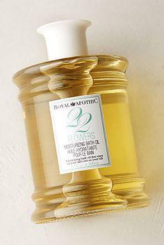 Royal Apothic Bath Oil $32