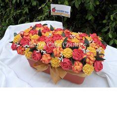 "Amazing cupcake ""flower"" bouquet"
