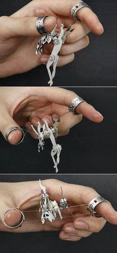 2012년 1월 | Carrotbox 현대 보석 블로그 및 상점 - 반지에 집착