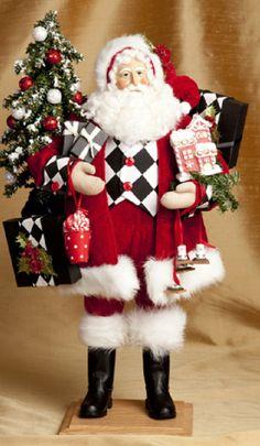 Holiday Twinkle Santa