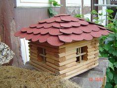 This cute #birdhouse is made of recycled materials: http://www.1-2-do.com/de/projekt/Vogelhaus-Blockhaus-fuer-Voegel/bauanleitung-zum-selber-bauen/14817/