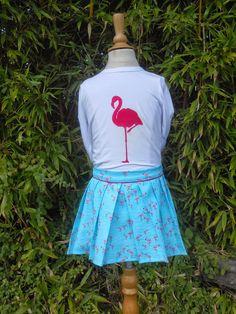 ffMamadammeke: La Maison Victor: Pauwenrokje met flamingo's