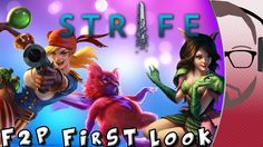 Strife - A Free-To-Play MOBA - F2P First Look [CBT]