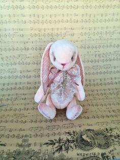 OOAK Teddy Bunny Popular artist bears stuffed by ShopHappyTeddy