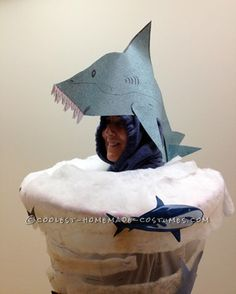 Homemade Sharknado Costume That�ll Blow You Away! ... This website is the Pinterest of costumes