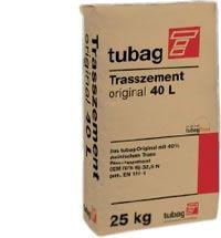 Tubag Trascement voor het leggen van natuursteen en keramische tegels