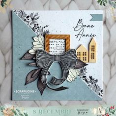 Tiny Little Houses, December Daily, Card Case, Cardmaking, Stampin Up, Christmas Cards, Layout, Paper, Frame