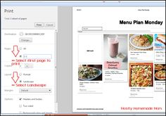 Mostly Homemade Mom - How to Use Pinterest to Meal Plan - the Paperless Way! www.mostlyhomemademom.com