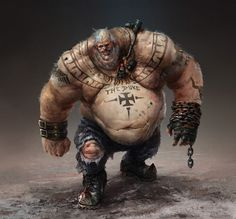 Character Designs - Fred Rambaud Concept Art