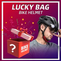 with a few cost to get a chance to have a high quality bike helmet of VICTGOAL Bicycle Helmet, Bike, Mystery Bag, Grab Bags, Mysterious, Imagination, September, Money, Color